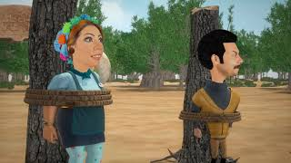 ياترى عزوز هيقدر يقنع زعيم قبيلة أكلي لحوم البشر أنها متشويهوش  !! #الكابتن_عزوز_2