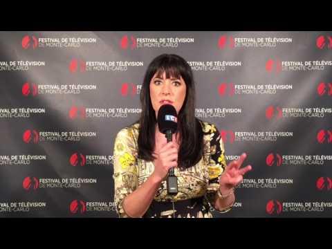 LCI  Festival de TV de Monte Carlo   Paget Brewster  2017