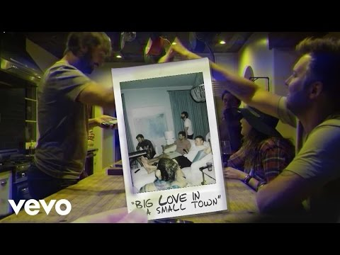 Lady Antebellum - Big Love In A Small Town (Audio)