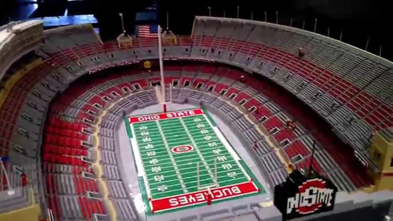 Stadium out OSU YouTube Legos of made Shoe) (The -