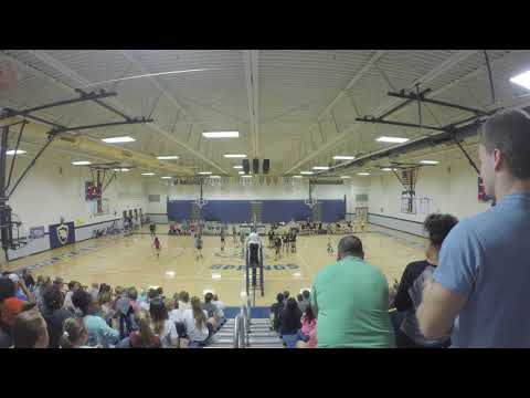 2017 Rutherford County TN MS Volleyball Finals Christiana Middle School vs. Siegel Set 8
