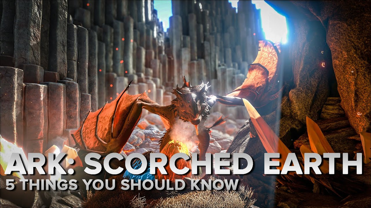 5 things you should know about Ark's Scorched Earth
