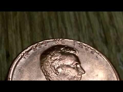 1989 penny  error double die in God we trust