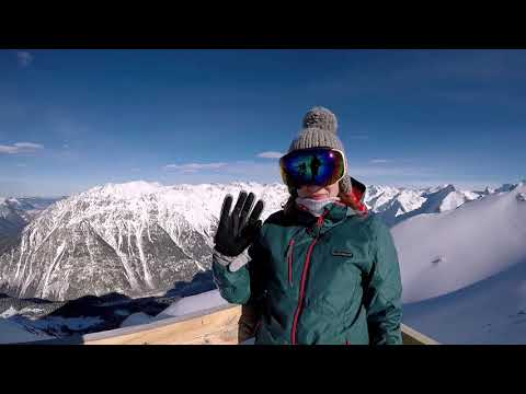 Домбай!!! Январь 2019 (GoPro) Горы-Лыжи-Linkin Park!