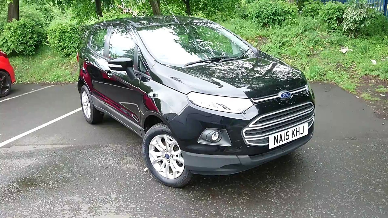 Used Ford Ecosport  Dr Shadow Black
