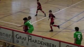 U14 Jhg2003 SC Freiburg - Borussia Mönchengladbach 0:3; Graf-Hardenberg-Cup Graben-Neudorf 08.01.17