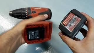 Taladro Hilti / Atornillador de bateria Hilti / Destornillador bateria / Desarmador / Herramientas