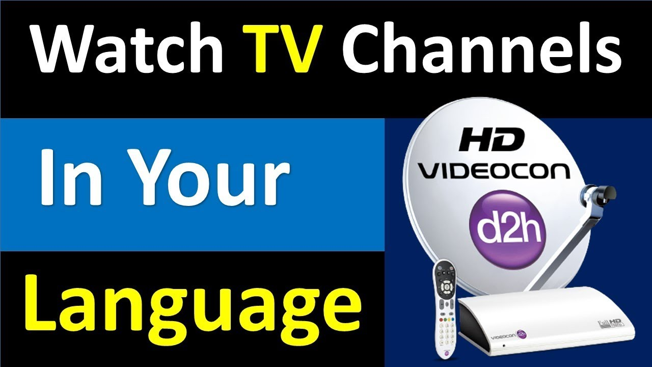 How to change Audio Language and Menu language in Videocon D2h ! Hindi