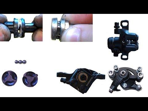 Тормозной механизм дисковых механических тормозов, принцип роботы SHIMANO, ARTEK, ZOOM, BOLI, FLAME