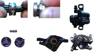 Тормозной механизм дисковых механических тормозов, принцип роботы SHIMANO, ARTEK, ZOOM, BOLI, FLAME(Мой ВК https://vk.com/id263241899 Полезные видео с моего канала, о ремонте велосипеда. 1) Задняя втулка колеса обслуживан..., 2015-06-01T07:46:59.000Z)