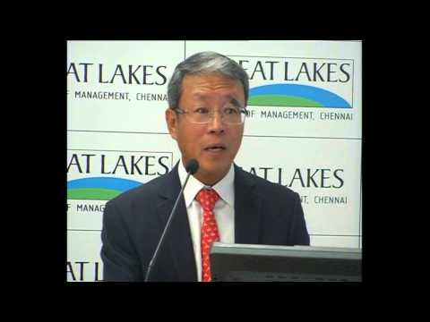 Mr. Moo Soo Kim, CEO & MD, Woori Bank Delivering The Key Note Address To Students At EMergeon '13