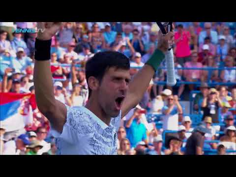 Djokovic Defeats Federer for Cincy Title and Masters History | Cincinnati 2018 Final Highlights