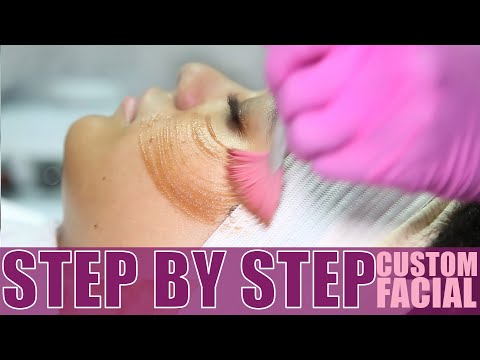 LABEAUTYOLOGIST FULL FACIAL TREATMENT - Dermaplaning + Exfoliating Enzyme + Hydrojelly Mask