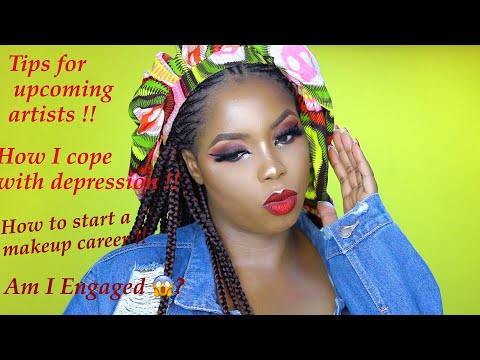 GET TO KNOW ME MORE! BEAUTY INFLUNCER IN NIGERIA? AM I ENGAGED? TIPS FOR UPCOMING MAKEUP ARTISTS.