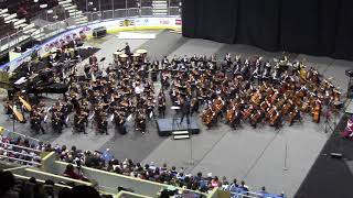 2018-01-27 Amy Performed in ILMEA All-State Hornor Orchestra