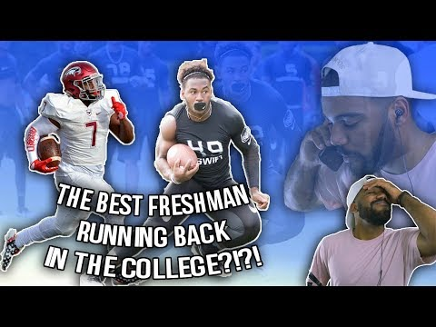 The Best Freshman Running Back In College Football!?!- D