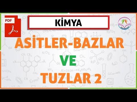 ASİTLER BAZLAR VE TUZLAR 2 (10. SINIF / 2020 TYT) (YENİ MÜFREDAT)