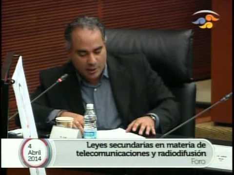 Foro Análisis de Leyes Secundarias en Telecom. 4 Abril - Parte V