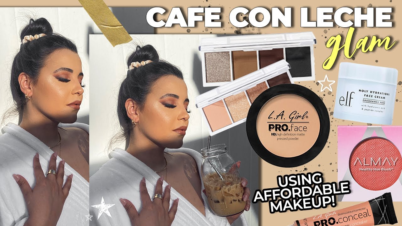 Affordable Makeup Tutorial Inspired by Iced Coffee!