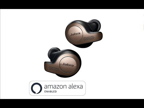 Jabra Elite 65t Alexa Enabled True Wireless Earbuds and Charging Case, India Unboxing