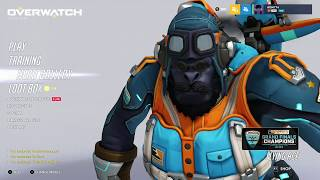 Overwatch OE Grand Finals Champions 2018 Opening 14 Loot Boxes