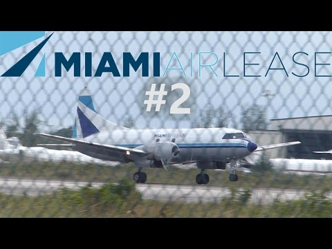 Miami Air Lease Convair C-440 Smooth Landing in Nassau | N41527