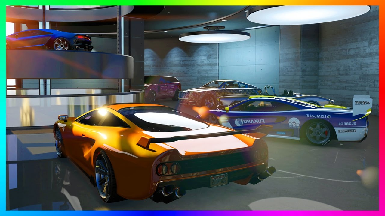 Gta online import export dlc new super cars 60 vehicle garages custom auto shop more gta 5 youtube