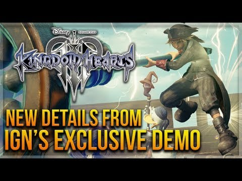 Kingdom Hearts 3 - New Details From IGN's Exclusive New Demo Viewing!