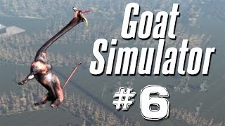 Repeat youtube video WHAT HAVE I CREATED?? | Goat Simulator - Part 6