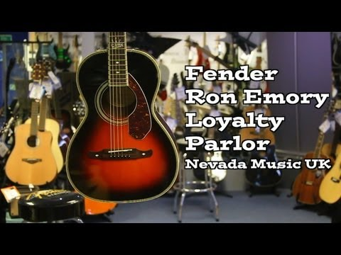 Fender Ron Emory Loyalty Parlor Guitar Demo at Nevada Music UK