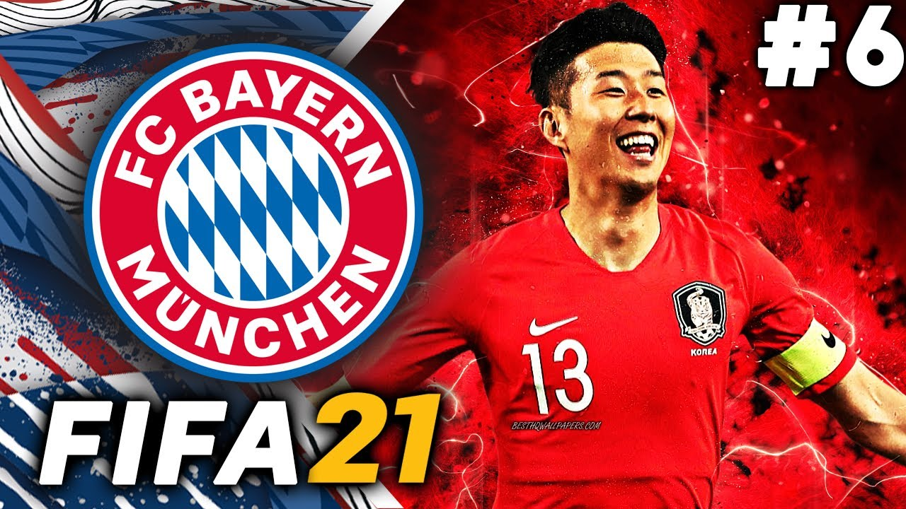KINGSLEY COMAN OUT! HEUNG MIN SON IN!!? - FIFA 21 Bayern Munich Career Mode EP6