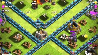 clash of clans 3800 trophies 47 pigs attack 98%