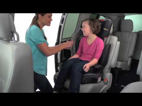 Graco Affix Highback Booster Installation - YouTube