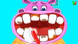 ДОКТОР ДЛЯ ЖИВОТНЫХ Лечим Зубки и Ухаживаем Интересное Видео игра Для Детей