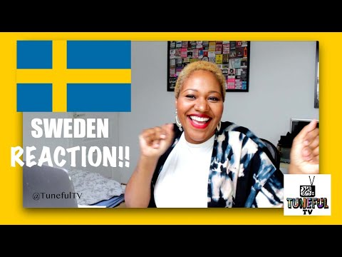 Eurovision 2021 SWEDEN Reaction (Tuneful TV)