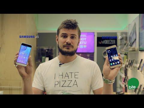 Samsung Galaxy J3 un J5 telefona apskats
