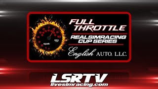 r27: Martinsville // Round of 8 // Full Throttle RealSimRacing Cup Series