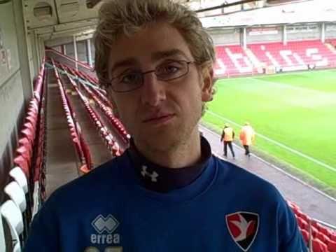 Meet Cheltenham Town's video analyst, Andy Elleray