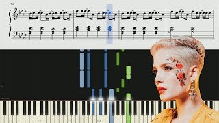 Halsey - Sorry - Piano Tutorial + Sheets