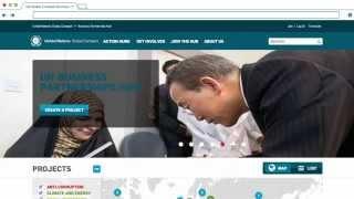 UN Global Compact Business Partnership Hub Thumbnail