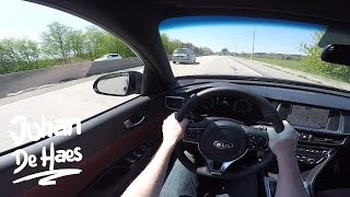 2017 KIA Optima Sportswagon GT 245hp POV test drive GoPro