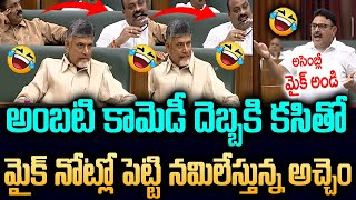Ambati Rambabu Hilarious Comedy Speech On Acham Naidu