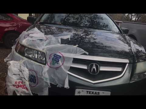 How to do Permanent Headlight Restoration Step by Step on an Acura TL