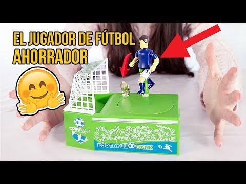 EL JUGUETE AHORRADOR DE FÚTBOL -Juguetes para niños