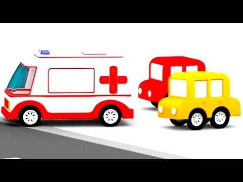 Мультики про : собираем пожарную машину