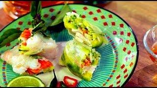 Spring Rolls, Gluten Free Style - Gluten Free With Alex T