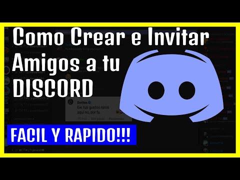 👍Como Crear E Invitar Gente A Un Canal De *DISCORD* GRATIS!!!! 👍 PARTE 1/2