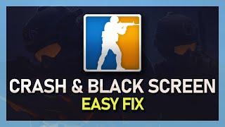 CS:GO - How to Fix Crashing on Startup & Black-screen 2018