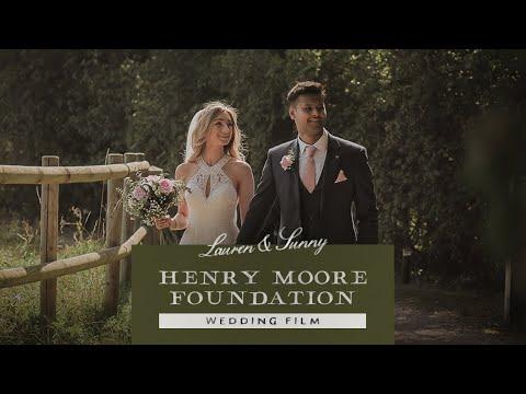 Henry Moore Foundation | Lauren + Sunny's wedding Film 2019 | Hertfordshire Wedding Videographer