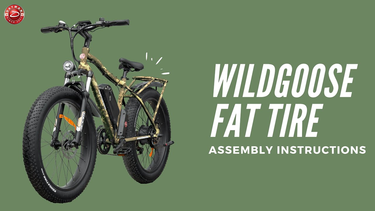 Daymak Wildgoose Fat Bike - Assembly (Electric Bike)